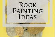 "The best rock painting pins! / A collection of rock painting tutorials and inspiration from around Pinterest! To contribute, leave a comment on the pin in the ""Become a contributor"" section."