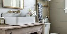 Beautiful Bathroom ideas / Stylish and functional bathrooms for all budgets and tastes