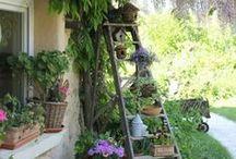"""Kreativ im Garten / Schöne und kreative Dinge im Garten sind wichtige Bestandteile, um ihn lebendig und """"hyggelig"""" werden zu lassen"""
