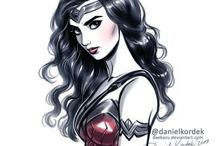 DC / Mostly wonder woman but whatever