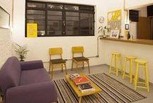 Corporativo - Sala de Descanso Escritório - Office Breakout Room / Ideias para sala de descnasp escritório corporativo criativo  Interior ideias for breakout office room