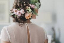 Hair style for a chic wedding