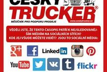 ČESKÝ TRUCKER - časopis pro podporu prodeje / ČESKÝ TRUCKER CZECH TRUCKER – a magazine for promoting sales of trucks and commercial vehicles - buses - delivery vans - trailers - municipal and handling equipment – container carriers - construction and agricultural machinery - industrial machinery - spare parts and accessories. https://www.facebook.com/ceskytrucker/