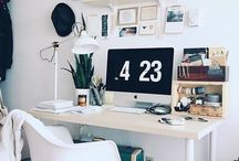 Sit down and relax / Stylish and cozy desk