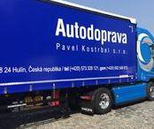 Autodoprava Pavel Kostrbel s.r.o. / V roce 1992 byla založena soukromá dopravní společnost, v roce 1998 jsme privatizací navázali na tradici dopravního oddělení s.p. Narex Hulín, později Pilana a.s. Nejvyšší důraz klademe na lidský potenciál a technologie. Jsme členem sdružení Česmad. Veškerá naše činnost je definována v obchodní strategii jako - KVALITA FLEXIBILITA INOVACE EXPORT-IMPORT Evropská unie, Balkán, Rusko. www.autodoprava-kostrbel.cz