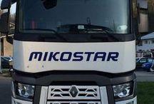 MIKOSTAR logistics s.r.o. / Kamionovou dopravu zajišťujeme převážně našimi kamiony, které plní nejnovější emisní normy Euro 6 a to ve všech členských zemích EU i mimo ni s 24 hodinovým dispečinkem. Vytěžování vozidel Smluvní LKW 70-100 ks. Profesionální tým dispečerů Komunikace v daném jazyce (CZ, SK, PL, D, AJ, I, ES,FR) Pojištění zásilek na 10 mil. Kč. Okamžité řešení Vašich požadavků a následně realizace přepravy Řešení nestandartních a krizových situací! www.mikostar.cz
