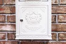 Briefkasten aus Eisen - Letterbox / Eine vielzahl massiver Briefkästen aus Eisen, ideal für Ihre Post und Briefe. Briefkasten Postbox Mailbox Letterbox