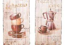 Holzbild : Essen & Trinken - Wood sign : Food & drinks / Wunderschönes &  massives Holzbild mit Druck im Vintage-stil. Stunning unique wood sign in a vintage look. #werbung #auktionshausbadhomburg #auktionshaus #aubaho #art #kunst #woodsign #holzbild #wood #holz #vintage #wall #wand #walldeco #wanddeko #kitchen #küche #essen #trinken #food #drink #drinks