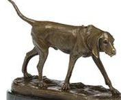 Bronzeskulptur Hund - Bronze sculpture dog / Hochwertig, wundervoll dekorativ & einzigartig! Atemberaubende Bronzeskulptur aus unserem Shop! Beautiful & unique decorative bronze sculpture from our shop! #werbung #auktionshausbadhomburg #auktionshaus #aubaho #bronze #bronzeskulptur #bronzesculpture #sculpture #skulptur #hund #dog #animal #tier #pet #haustier