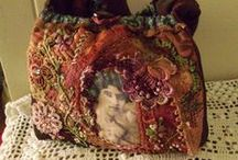 Art - Bags, Purses & Totes / purses and bags / by Rinnie Hunt Henry