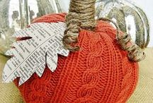 Art - Sweaters Repurposed / Repurposed items from old Sweaters / by Rinnie Hunt Henry