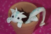 Craft Ideas / warming polymore clay / by Dorothy Mears