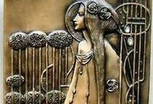 Nouveau Inspirations / Like a magnet, Art Nouveau drew me to Glasgow. / by Fuzbaby