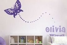 Nursery Room Designs / Trendy Wall Designs has changed the way we decorate our living spaces with our high quality non-damaging vinyl wall decals. Trendy Wall Designs vinyl wall decals are safe, non-toxic and reusable and are the perfect way to transform any space. Our vinyl wall decals/stickers are perfect for creating a trendy, stylish, artistic decor. Vitalize any interior space with vinyl wall art.