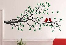 Floral, Branch & Tree Wall Decals / Trendy Wall Designs has changed the way we decorate our living spaces with our high quality non-damaging vinyl wall decals. Trendy Wall Designs vinyl wall decals are safe, non-toxic and reusable and are the perfect way to transform any space. Our vinyl wall decals/stickers are perfect for creating a trendy, stylish, artistic decor. Vitalize any interior space with vinyl wall art.
