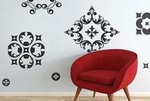 Ornament Wall Decals / Trendy Wall Designs has changed the way we decorate our living spaces with our high quality non-damaging vinyl wall decals. Trendy Wall Designs vinyl wall decals are safe, non-toxic and reusable and are the perfect way to transform any space. Our vinyl wall decals/stickers are perfect for creating a trendy, stylish, artistic decor. Vitalize any interior space with vinyl wall art.