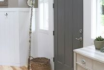 Mudroom / Inspiration for our mudroom