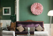 Colorful Eclectic Interiors