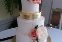 "Wedding cakes by ""ADC"" / Custom bakery, working with destination couples and local brides since 2001. We recommend contacting us 8-12 month's out at 910-346-2347, for weddings over 75 guests. You can see more of our creations on Instagram @americandreamcakes, FB @americandreamcakes,bakery, Twitter #jacksonvillenc and at www.americandreamcakes.com"