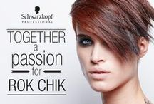 EL 1: 2015 Rok Chik / Schwarzkopf Professional's Essential Looks: The Modern Style Collection 2015 presents Rok Chik. A confident and sophisticated trend that ROKS HARD! Red and copper shades fused together with short, yet feminine haircuts for a fiery HOT look.   / by Schwarzkopf Professional