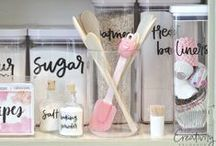 Home Organization / Love Spring Cleaning?  Let's clear the clutter with these great tips and tricks for Home Organization.