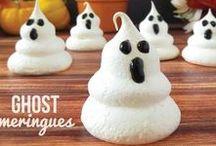 Halloween Treat Inspiration / Fun Halloween Treat Ideas.  Halloween party treats.