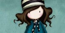 > Gorjuss Girls ♠ / Illustrazioni di Gorjuss Santoro, tutte le famose Gorjuss Girls, dolcemente dark e dallo stile unico. Vi piacciono?
