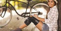 Knee / Knee braces, knee skins, knee sleeves, knee compression, knee protection, knee injury.
