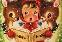 Vintage Christmas cards & postcards  / Good ol' times