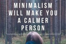 Minimalism / Tips, ideas, resources and inspiration for those inclined toward the minimalistic lifestyle. Minimalism isn't about not buying more; it's about not needing more.