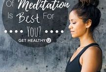 Meditation & Self Care / Tips, tools, and resources to help you build and sustain a meditation and self care practice.