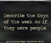 Writing Prompts / Writing prompts to give you a gentle nudge of inspiration. Go deeper.