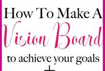 Vision Board Ideas / Looking for some vision board ideas. Well, this board will inspire you to create the best vision board for your personality and goals.