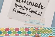 Planners For Bloggers / If you love planners, you'll love this board. We've collected the best planners for bloggers to help you becomes to best entrepreneur you can become.