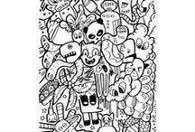 Doodle Art / Doodle Art by Markers