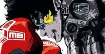 """『Megalo Box』 / J.D. (""""Junk Dog""""), a boxer who descends into the underground world of """"Megalo Box"""", in which fighters combine their training with special gear technology to create the ultimate martial art."""