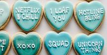 Will you be my Valentine's treat? / Make these sweets for your sweetheart.
