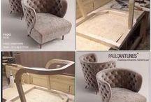 Furniture making, frame construction