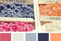 Wedding Color Palettes / Find inspiration for your wedding color theme here