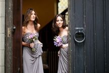 Gray Bridesmaid Dresses / Sophisticated and pretty, gray bridesmaid dresses bring a sense of elegance to your wedding day. Whether your bridesmaids like long or short dresses, gray will add a special touch. / by Dessy Group