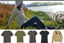 Eco-friendly Style and fashion! / Some great earth friendly clothes we feature, sustainable, vegan, green, recycled, fair trade, or humanitarian! If you have a clothing line fitting any of this criteria tweet us @healthysurprise and let us know!