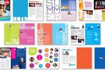 Magazine Spreads/Layouts