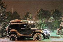 JEEP / Jeep , Jeeps , Rubicon , Wrangler , Sahara , Grand Cherokee, Willys , JK, CJ, WK2, WJ, ZJ, 4x4 , General Motors , Rock Crawlin / by Jesse Csincsak