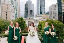 GREEN BRIDESMAID DRESSES + WEDDINGS / Chic bridesmaids dresses that will make your maids look sophisticated and elegant. Choose from a dazzling green color palette great for a wedding of any season. Want something long and classic for your bridesmaids? You'll find it. These are bridesmaid dresses your girls will LOVE ...