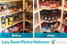 Perfect Pantry Projects / Conquer your chaotic kitchen with these helpful pantry project ideas.
