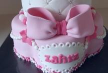 stapeltaart meisjes (eigen taarten)/ tiercake girls (own cakes)