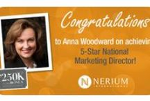 Nerium's NMDs and Above! / We're not only proud of those who achieve success with Nerium International; we're profoundly grateful to them for their hard work. Let them know you're proud of them! / by Nerium International