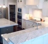 White Kitchens / A white kitchen is a classic, but modern and fresh addition to your home.