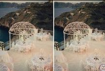 Luxury Private Villa Wedding / Santorini Wedding | Photography by Anna Roussos