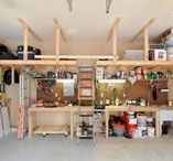 Garage Makeover Tips / From insulation to renovation, storage to curb appeal, your garage is more than just the place where you keep your car.